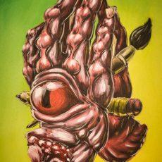 L'Extremiste - Tattoo beeld